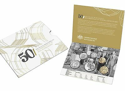 2015 Six Coin Uncirculated Set - 50th Anni. of The Royal Australian Mint