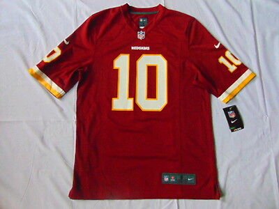 Washington Redskins Nike Game NFL Jersey - Griffin III #10 - Mens Small - NWT