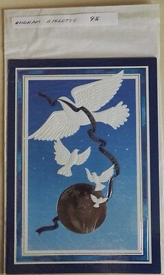 1995 Oldham Athletic  -  Rare Vip Christmas Card Issued By The Football Club