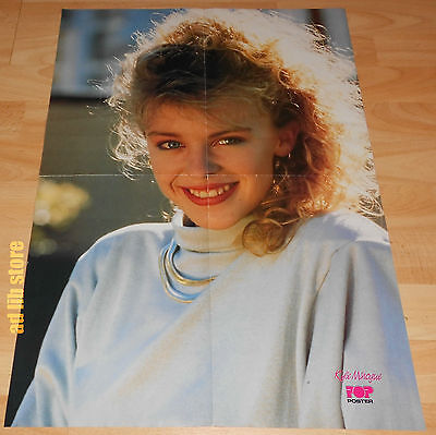 "KYLIE MINOGUE AND SINITTA FOLD-OUT POSTER  23.5"" x 16.5"" (60 x 41,5 cm) 1980s"