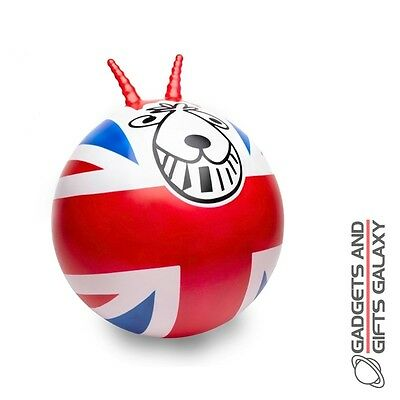 UNION JACK RETRO SPACE HOPPER garden outdoor child adult toy gift british