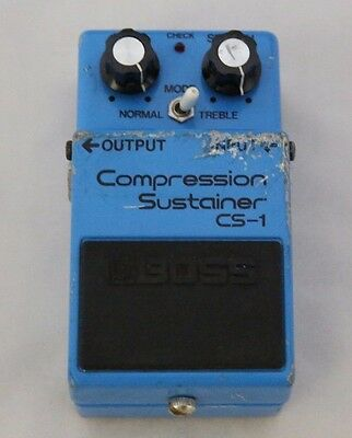 BOSS CS-1 Compression Sustainer Guitar Effects PEDAL Made in Japan