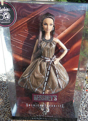 BARBIE HERSHEY'S AMERICAN FAVORITES NRFB - NUOVA - model muse doll collection