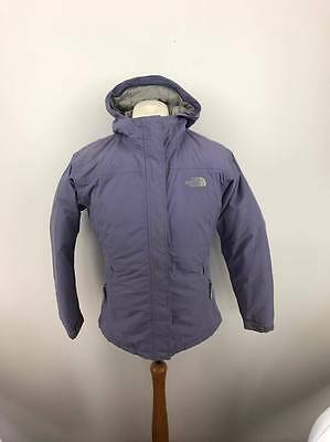 The North Face Girls Kids Approach Goose Down Jacket Coat Extra Large XL Purple