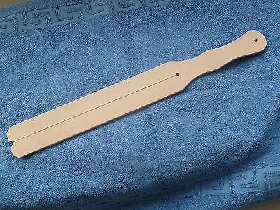 """NEW Authentic 2 tail Leather TAWSE - 7mm thick 50mm x 445mm (2""""x14.5"""") (cane)"""