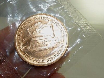 Copper Treasury Department 1789 Fort Knox Kentucky US Commemorative Coin