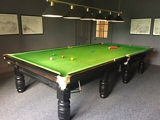 Full Size Snooker Table & Accessories- Collection Only