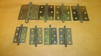 Lot of Vintage 2 Sizes Of  Cabinet Hinges