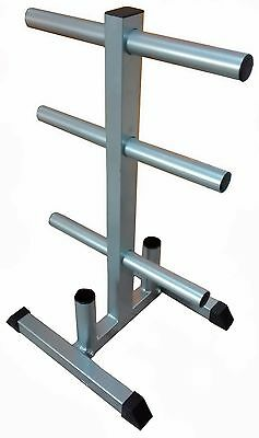 Fxr Sports Olympic Weight Plate Tree Weightlifting Holder  Rack Storage Weights