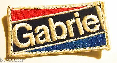 Gabriel Shock Absorber Patch Embroidered 3-7/8  Inches Vintage Racing