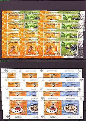 Montenegro, Crna Gora, EUROPA 2005 MNH block 1 and MH 1 10x.