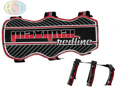 Maximal Redline Double Archery Armguard Medium 19cm with 3 fasteners