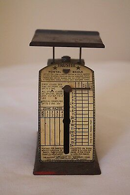Vintage Trustee Postal Scale, Eastern Metalcraft Company ~Weight ~ Pricing