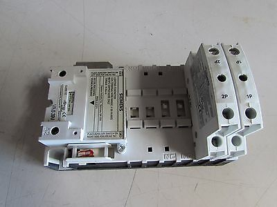 Siemens Lighting Contactor Lce00C300120A Coil#75Lcc277A  W/2Qty-49Lcpp2A Nice !!