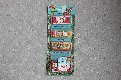 NEW Vintage Mid Century Christmas Gift Tags 75 for Kids Labels