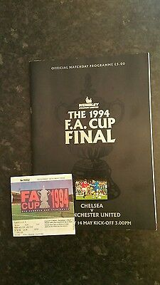 1994 F A Cup Final Chelsea v Manchester United (Package)
