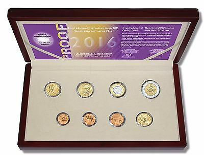 Griechenland - Original Proof Coin Set 2016 - Auf Lager !!