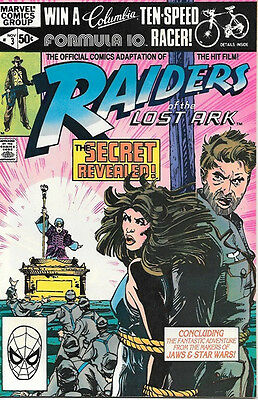 Raiders of the Lost Ark Comic Book #3, Marvel Comics 1981 VERY FINE/NEAR MINT