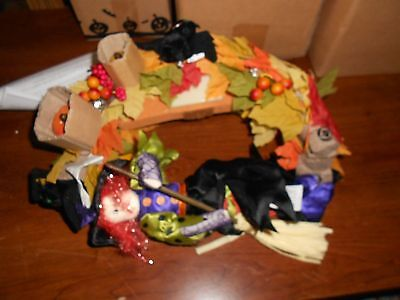 avon halloween convertible lighted wreath jt59
