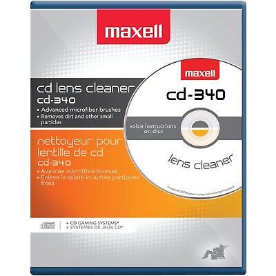 Maxell 190048 CD/CD-ROM Laser Lens Cleaner