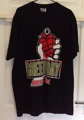 GREEN DAY AMERICAN IDIOT ARENA TOUR 2005 T-SHIRT Size L