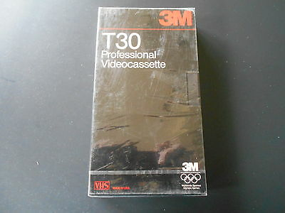 Brand New 3M T30 Vhs Blank Tape