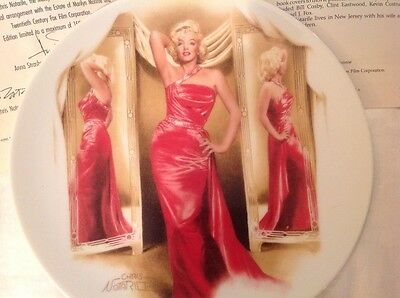 MARILYN MONROE HOW To MARRY a MILLIONAIRE~~ Delphi Collector Plate w/COA