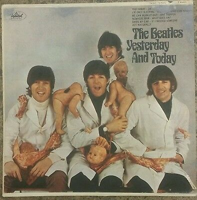 """The Beatles """"yesterday And Today"""" Rare '66 Us Orig Withdrawn 'butcher Cover' Lp"""