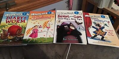 I Can Read Level 1 Lot Of 4 childrens Books