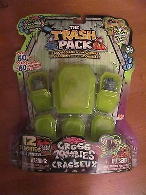 The Trash Pack ROTTEN Series GROSS ZOMBIES 12 Pack You get exact pack shown NEW
