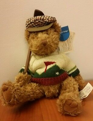 Bogey Jr Russ Plush Tags Attached Collectible Golf Teddy Bear
