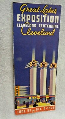 Great Lakes Exposition Cleveland Centennial Paper  Pamphlet
