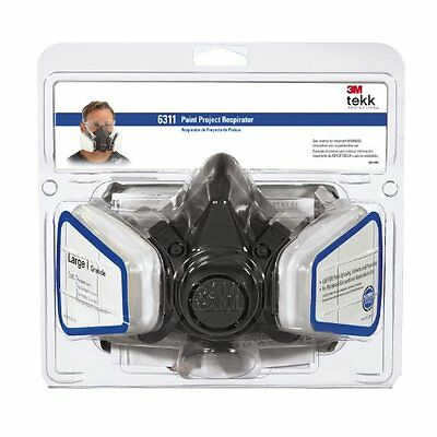 3M Paint Project Respirator, Large