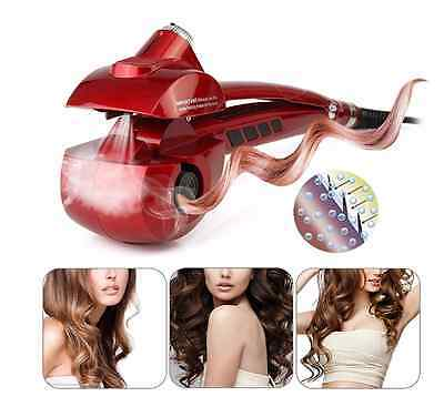 PRO FER A BOUCLER Automatique Ceramique Titane Vapeur MAGIC STEAMER HAIR CURL Fr