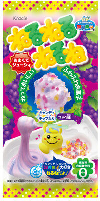 KRACIE POPIN COOKIN NERUNE GRAPE KIT.DIY Japanese candy.Happy Kitchen.Poppin