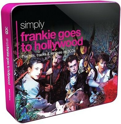 Simply Frankie Goes To Hollywood - 3 DISC SET - Frankie Goes To (2015, CD NUOVO)