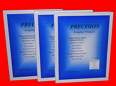 300 sheets Precision Overhead Transparency Film 10-101 for overhead projector