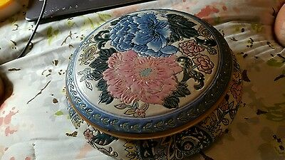 Andrea by Sadek Collection Sevres Round Trinket Candy Box