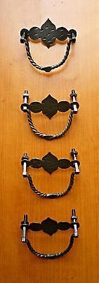 Antique Vintage Original four Iron Handles Beautiful Design