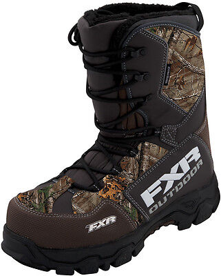New FXR-Snow X-Cross Adult Realtree Xtra Adult Boots,Camouflage,Mens 9/Womens 11