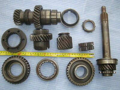 Vintage Large 11 Pc Gear Etc Lot 23Lb Cast Iron Industrial Steampunk Pulley Lamp