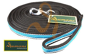 Horse Lead Rope LUNGE SOFT CUSHION WEB LUNGING REIN/ LEAD-8MT LONG