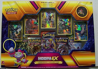 Pokemon Hoopa EX Legendary Collection Sealed Box  includes 5 packs