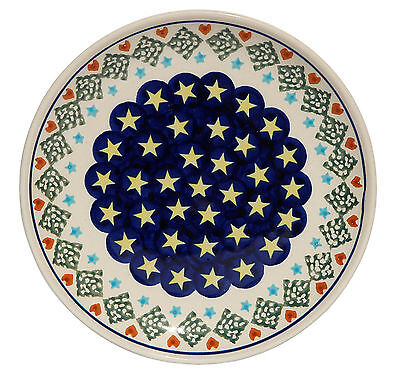 Polish Pottery Plate 6.5 Inch from Zaklady Boleslawiec Polish gu818/198