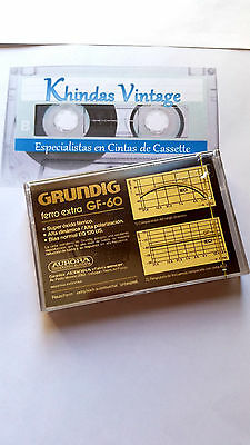 CASSETTE TAPE BLANK SEALED - 1x (one) GRUNDIG GF-60 [1979] manufactured by SONY