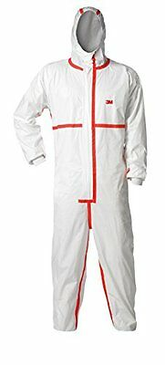 TEKK Protection 94565-00000T  Protection Renovation Coverall, X-Large, White