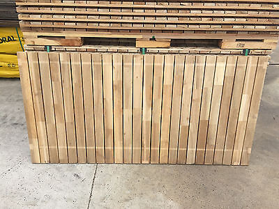 Mixed Hardwood FJ Slatted Screens 1800x1200 Timber Screen Privacy