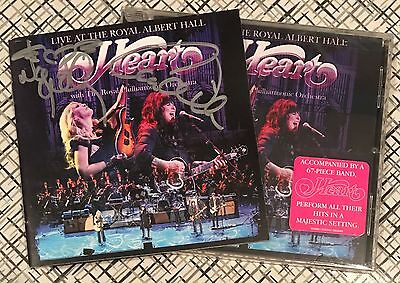HEART Live at Royal Albert Hall SIGNED Autographed CD ANN NANCY WILSON