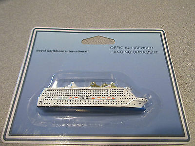 NWT~Royal Caribbean Radiance Of The Sea Hanging Ornament~ Sealed Package~