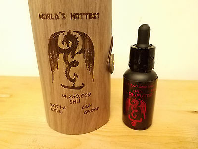 worlds hottest hot sauce ( THE UNDISPUTED ) Lava edition